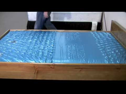 Attractive Are Waterbeds Still Made Waterbed Mattress Ls 7127 Wave Test Youtube
