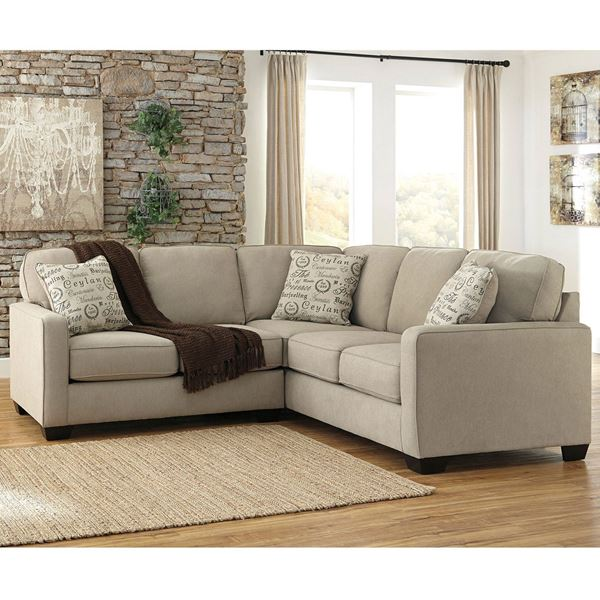 Attractive Ashley Furniture Beige Sectional 2pc Beige Sectional With Raf S F1 166rs 2pc Ashley Furniture Afw