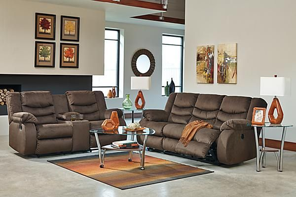 Attractive Ashley Furniture Electric Recliner Sofa The Chivington Reclining Sofa From Ashley Furniture Homestore