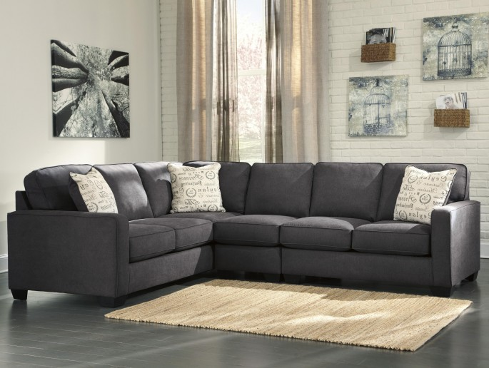 Attractive Ashley Furniture Green Couch Furniture Ashley Loveseat For Simple But Comfortable Furniture