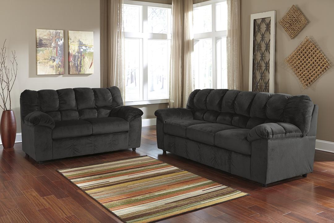 Attractive Ashley Furniture Leather Couch And Loveseat Homey Design Couches At Ashley Furniture Remarkable Ideas Black