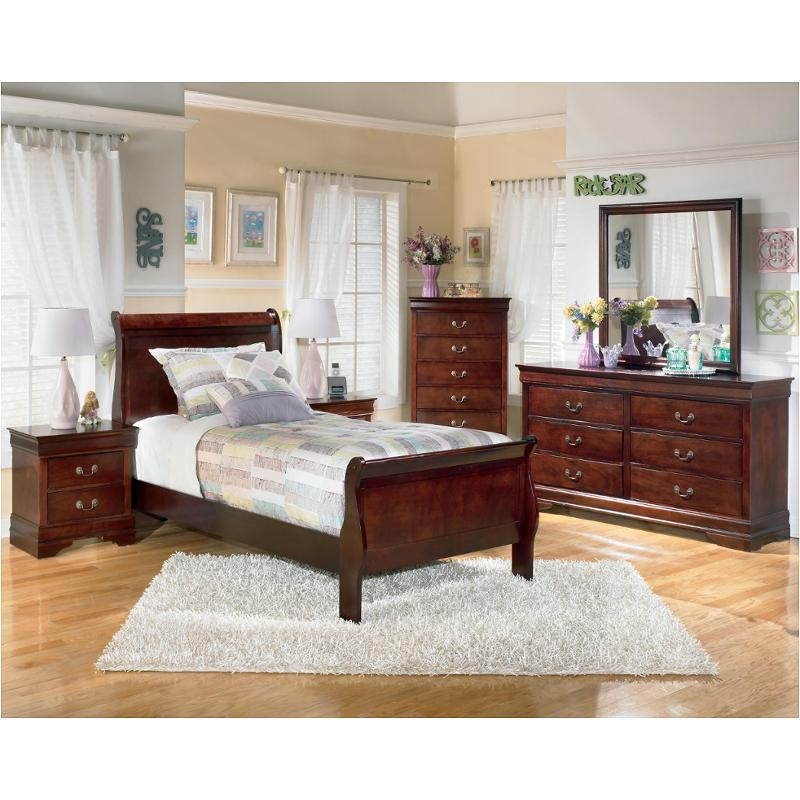 Attractive Ashley Furniture Sleigh Bed B376 53 Ashley Furniture Alisdair Dark Brown Twin Sleigh Bed