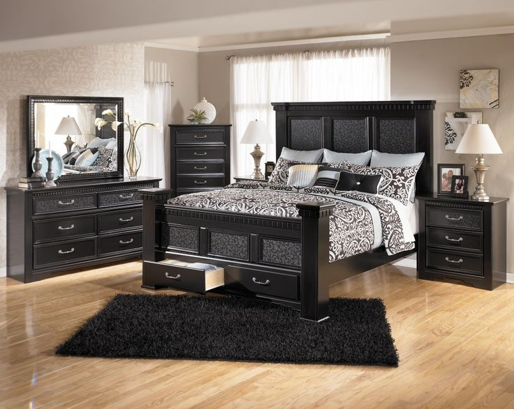 Attractive Ashley Furniture Wood Bed Great Black Bedroom Furniture Sets Queen Best 25 Ashley Furniture