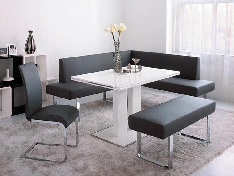 Attractive Bench Table Set Ikea Corner Kitchen Table With Bench Amazoncom Essential Home Emily