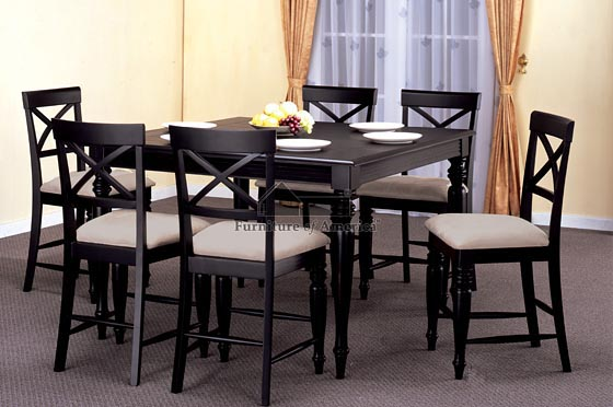 Attractive Black Kitchen Chairs Advantages Of Having Black Kitchen Table And Chairs Furniture Depot
