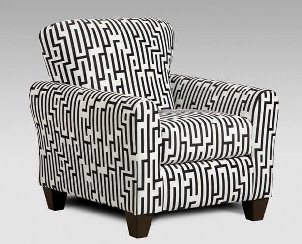 Attractive Black White Accent Chair Accent Chair Union Furniture Company