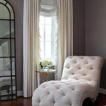 Attractive Blue Tufted Chaise Lounge Bedroom Corner Chaise Lounge Design Ideas