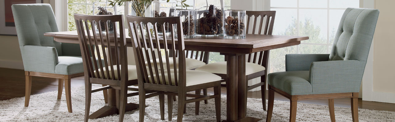Attractive Breakfast Room Tables And Chairs Shop Dining Chairs Kitchen Chairs Ethan Allen