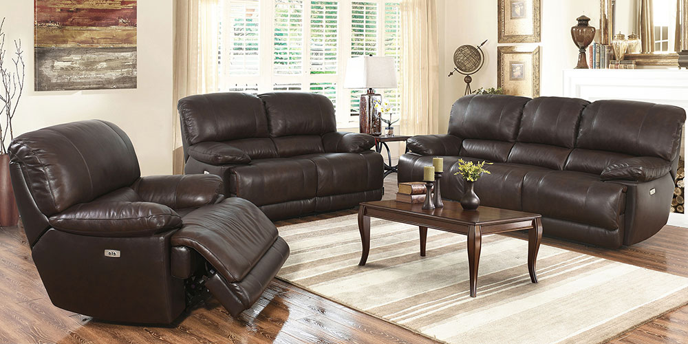 Attractive Brown Leather Living Room Set Living Room Sets Costco