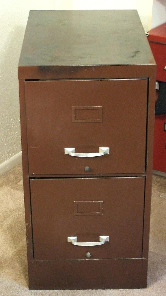 Attractive Brown Metal File Cabinet Brown File Cabinet Tshirtabout