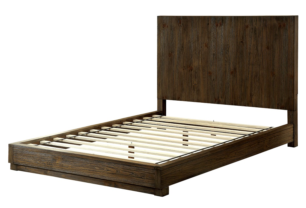 Attractive California King Wood Bed Frame Amarante Collection Cm7624 Furniture Of America California King
