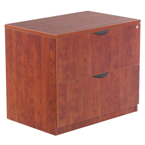 Attractive Cherry File Cabinet Alera Aleva513622mc Valencia Medium Cherry Two Drawer Laminate