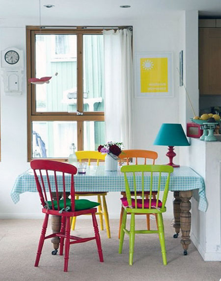 Attractive Colored Chairs For Kitchen 54 Of The Best Retro Kitchen Dining Tables Ever