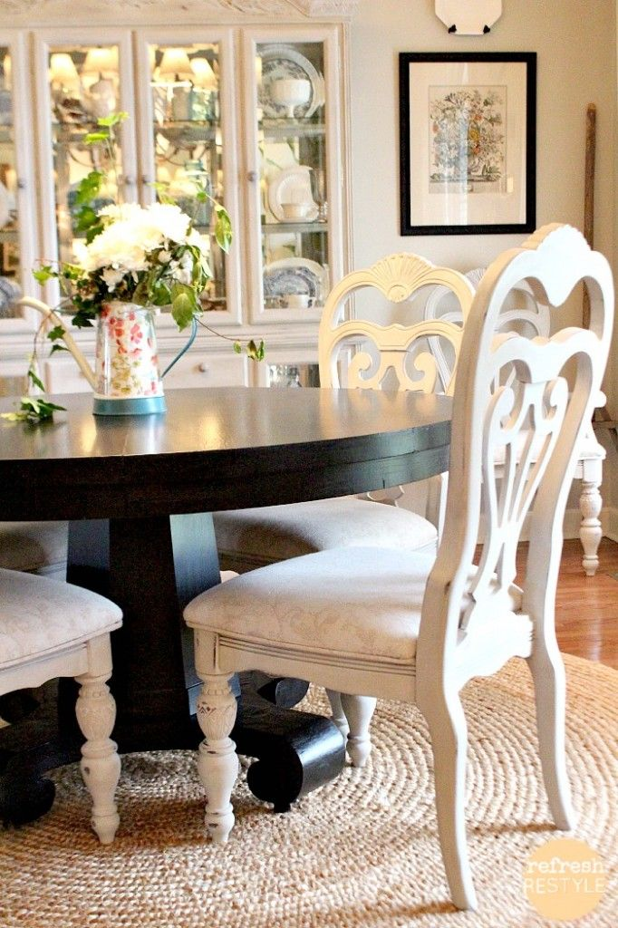 Attractive Colored Wood Dining Chairs Best 25 Painted Dining Chairs Ideas On Pinterest Dining Chair