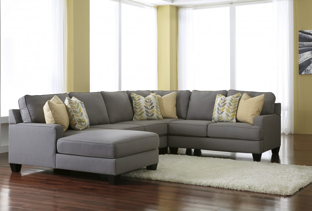 Attractive Corner Sectional With Chaise Chamberly Alloy 4 Pc Laf Corner Chaise Sectional 243021634