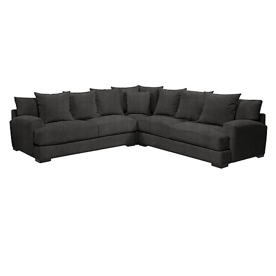 Attractive Corner Sectional With Chaise Sofas Sectionals The Sophisticated Stella Sectional At Z Gallerie