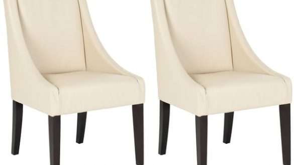 Attractive Cream Dining Chairs With Arms Album Of Sloping Arm Dining Chair Fibooti