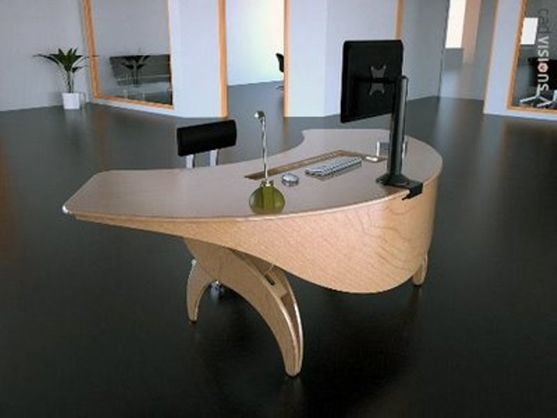 Attractive Creative Office Table Wonderful Minimalist Cool Office Pictures Photos Images