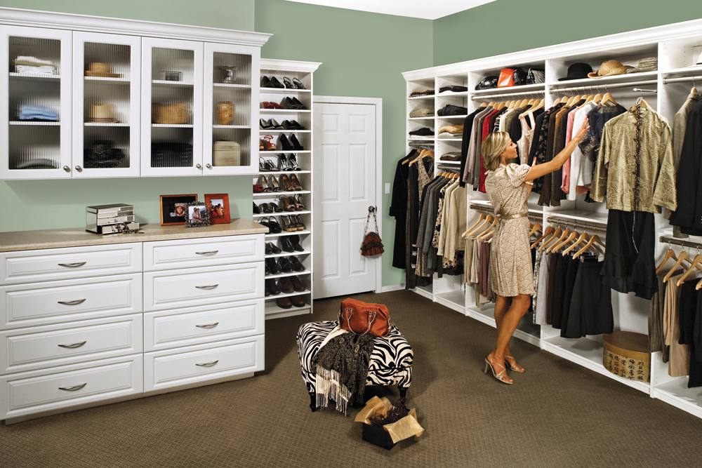 Attractive Custom Walk In Closets Custom Closet Organizers Systems Design Tailored Living