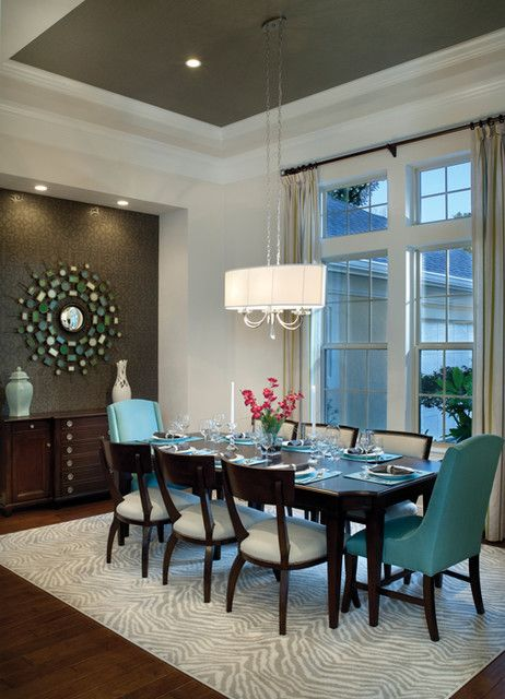 Attractive Dark Teal Dining Chairs Best 25 Turquoise Dining Room Ideas On Pinterest Beige Dining