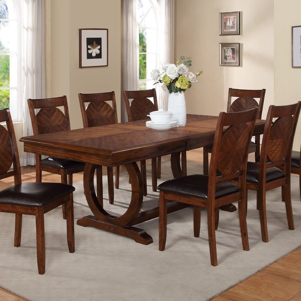 Attractive Dining Room Tables World Menagerie Kapoor Extendable Dining Table Reviews Wayfair