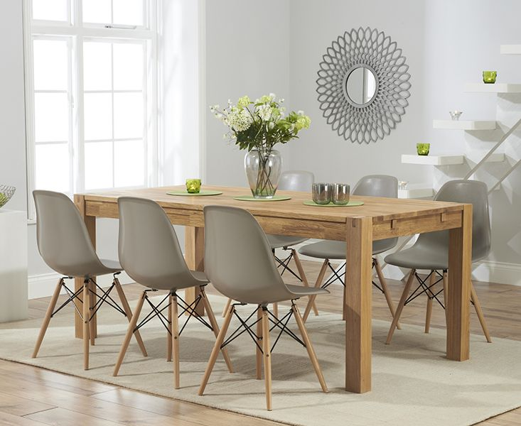 Attractive Dining Table And Chairs Best 25 Oak Dining Table Ideas On Pinterest Oak Dining Room