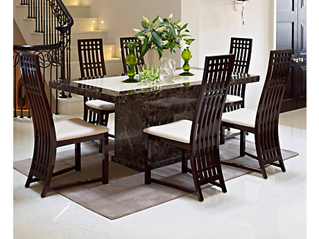 Attractive Dining Table And Chairs Excellent Dining Table Chair With Caesar Furniture Dining Table