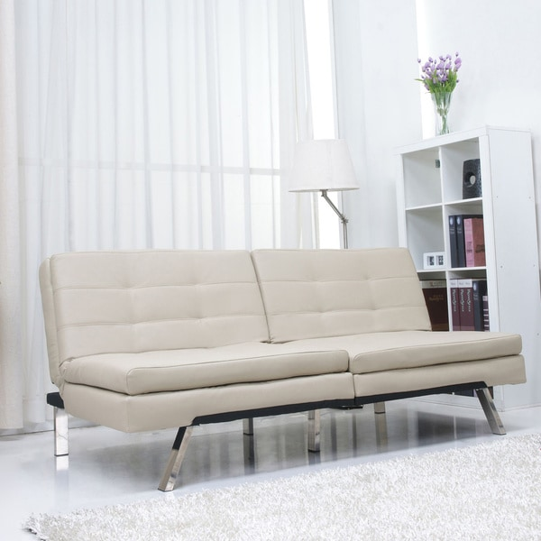 Attractive Double Futon Sofa Bed Memphis Sand Double Cushion Futon Sofa Bed Free Shipping Today