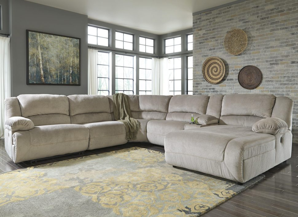 Attractive Fabric Sectional Sofa With Recliner Sofas Magnificent Fabric Sectional Sofas Grey Sectional Small