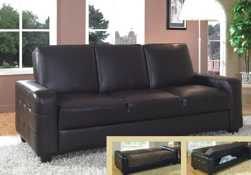 Attractive Faux Leather Futon Couch Attractive Futon Leather Sofa Bed Metal Leg Faux Leather Sofa Bed