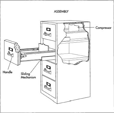 Attractive File Cabinet Accessories How File Cabinet Is Made Material Making Used Parts