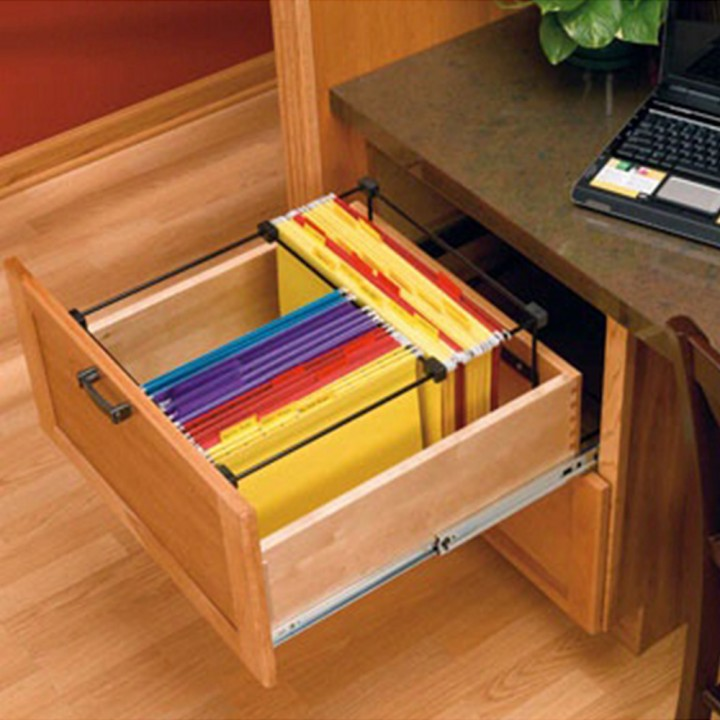 Attractive File Cabinet Hardware Letter File Drawer System Black Wire Ras Smfd 52 Rockler