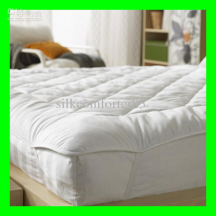 Attractive Full Size Mattress Topper 2017 Silk Filled Full Size Mattress Pad Topper 200220cm 3kg