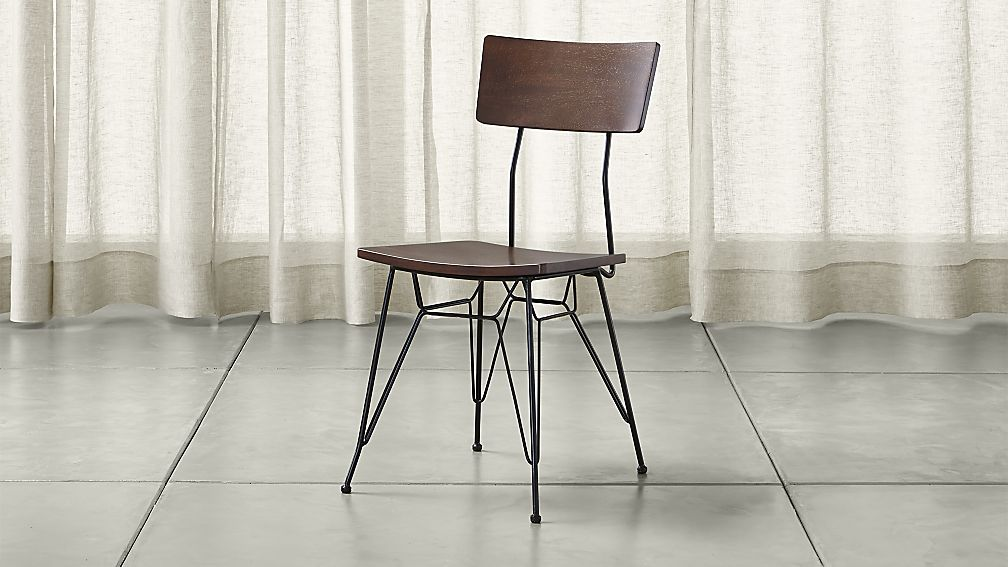 Attractive Furniture Dining Chairs Elston Dining Chair Crate And Barrel
