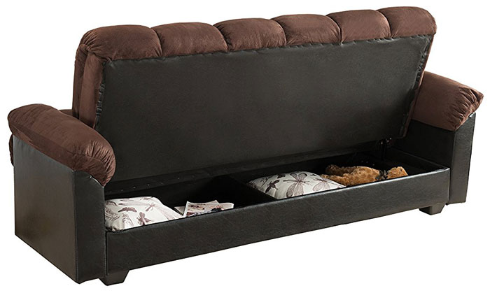 Attractive Futon Bed With Storage 27 Modern Convertible Sofa Beds Sleeper Sofas Vurni