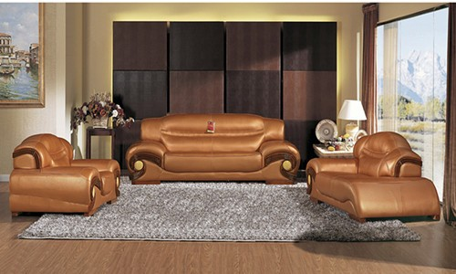 Attractive Genuine Leather Sofa Set Modern Furniture Genuine Leather Sofa Manufacturersmodern