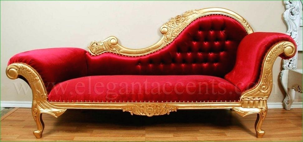 Attractive Gold Velvet Chaise Lounge Gold Velvet Chaise Lounge Victorian Chaise Gold Red Gold Chaise