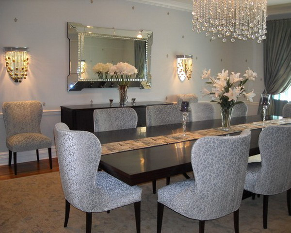 Attractive Gray Dining Room Chairs Download Grey House Decor Homesalaskaco