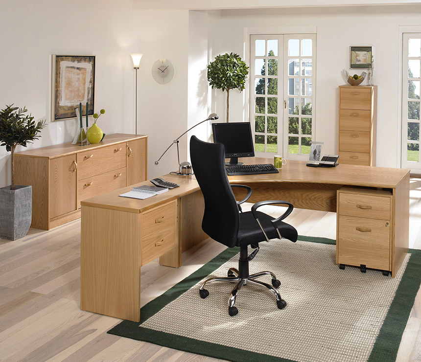 Attractive Home Office Desk With Filing Cabinet Home Office Desk With File Drawers Used Office Desks Desk Design