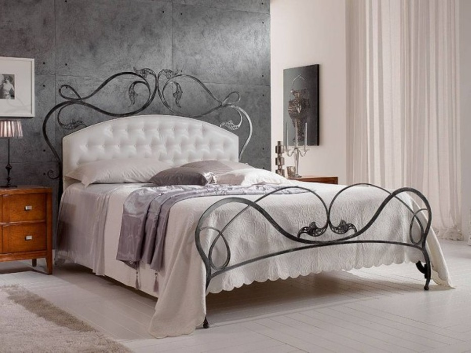 Attractive Iron Head And Footboards Wrought Iron Headboard And Footboard Home Improvement 2017