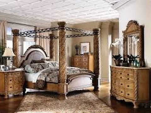 Attractive King Size Bedroom Set Ashley Furniture Ashley Furniture Bedroom Sets Youtube