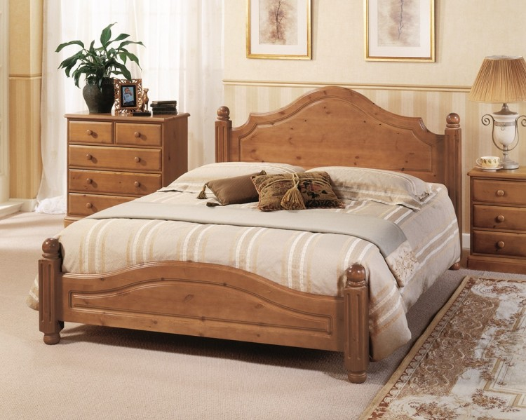 Attractive King Size Wood Bed Frame Beds Extraordinary Wooden King Size Bed Frame Handmade Wooden