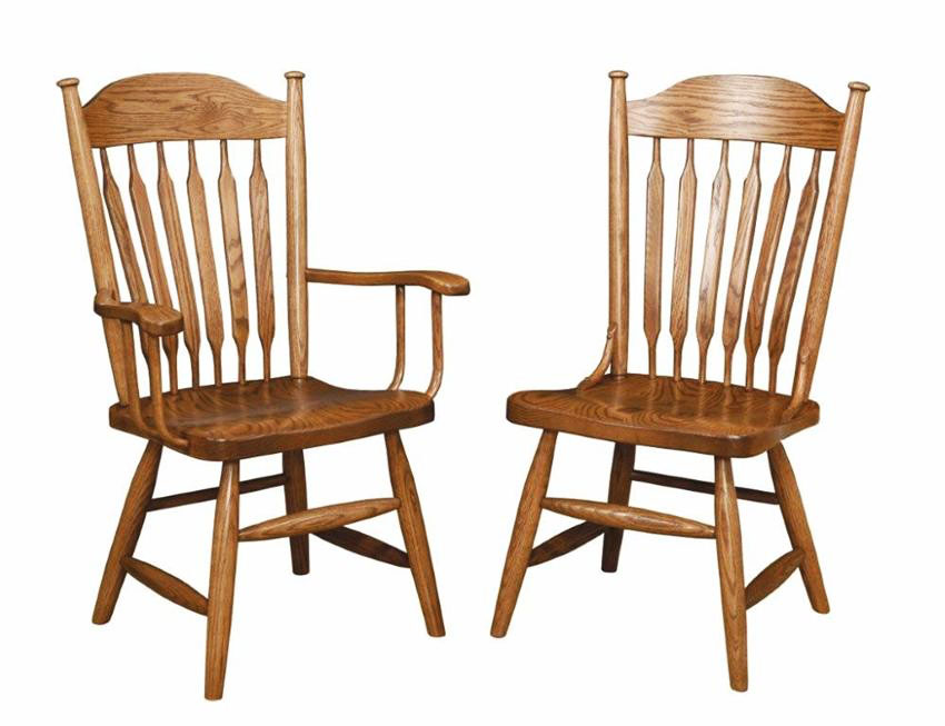 Attractive Kitchen Chairs With Arms Kitchen Dining Furniture Walmart Inside Wood Dining Room Chairs