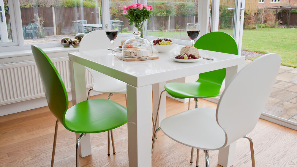 Attractive Kitchen Dining Chairs White Gloss Kitchen Dining Set Colourful Dining Chairs Uk