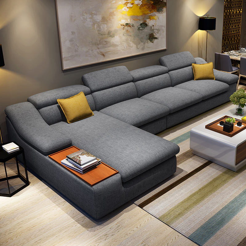 Attractive L Shaped Chaise Sofa Sectional Sofa With Ottoman This Sectional Is Simple At First