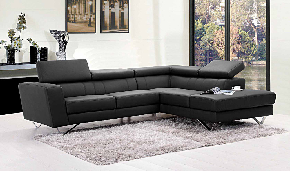 Attractive L Shaped Sectional Couch Liza Leather L Shaped Sectional Sofa Leather Sectionals