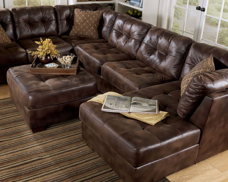 Attractive Large Leather Sectional With Chaise Remarkable Leather Sofa With Chaise Best Ideas About Large