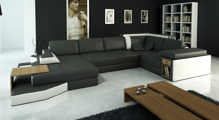 Attractive Large Microfiber Sectional Couch Zebra Large Sectional Sofa S3net Sectional Sofas Sale S3net