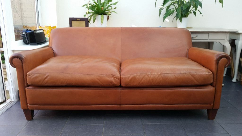 Attractive Laura Ashley Leather Sofa Laura Ashley Distressed Tan Brown Extra Large Leather Burlington