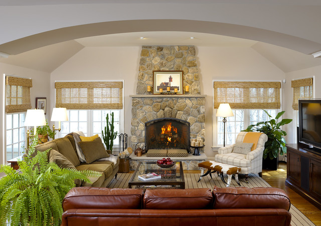 Attractive Leather And Fabric Living Room Sets Inviting Family Room Contemporary Living Room New York